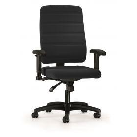 Prosedia bureaustoel Yourope 8 - Hoge rugleuning - Zwart