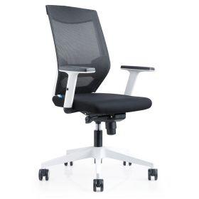 bureaustoel brescia zwart