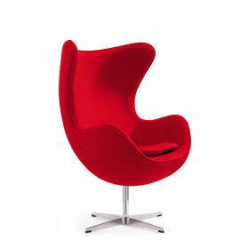 Egg Chair Rood *OUTLET*