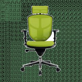COMFORT bureaustoel Enjoy Classic (met hoofdsteun) - Groen voorkant