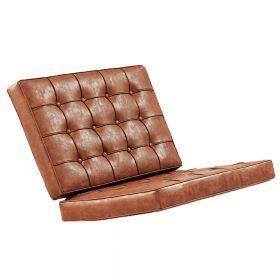 Kussenset Barcelona Chair - Vintage brown