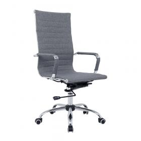 luxe grijze bureaustoel