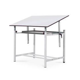 Professionele tekentafel met legplank - Verstelbaar - Blad 90x130 cm