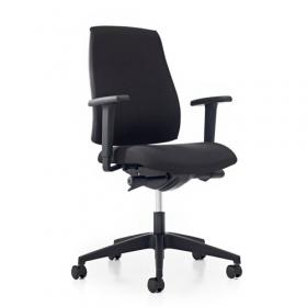 Prosedia bureaustoel Se7en Basic - Zwart *OUTLET*