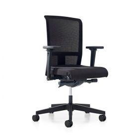 Prosedia bureaustoel Se7en Flex Net 3496 NPR - Zwart