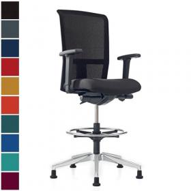 Prosedia bureaustoel Se7en Net Counter (glijders)