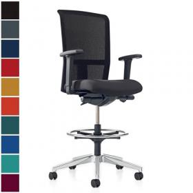 Prosedia bureaustoel Se7en Net Counter (wielen)