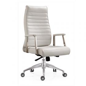 chique witte bureaustoel