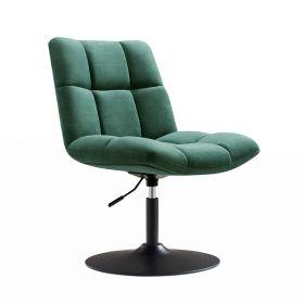 Design fauteuil Lille - Velvet groen