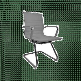 design vergaderstoel grijs