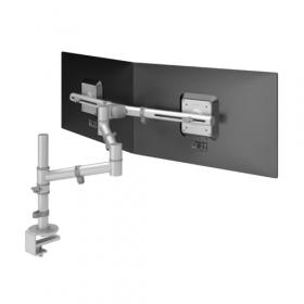 TFT-arm Viewgo Twin voor Schaffenburg bureaus - 2 schermen