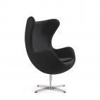 Egg Chair Zwart
