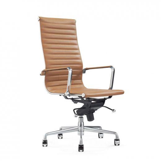 Luxe Leren Bureaustoel.3vrg5y0odhkb4m