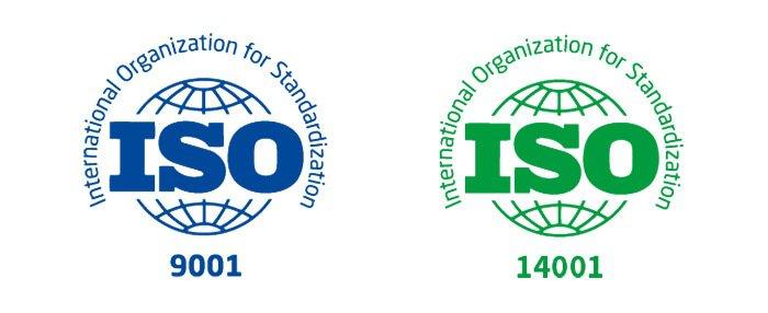 TÜV ISO 9001 en 14001 kwaliteitsgarantie